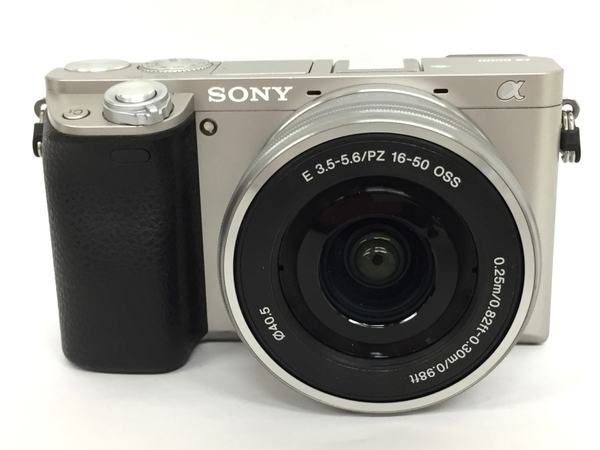 SONY ソニー α6000 ILCE-6000L S パワーズームキット 一眼