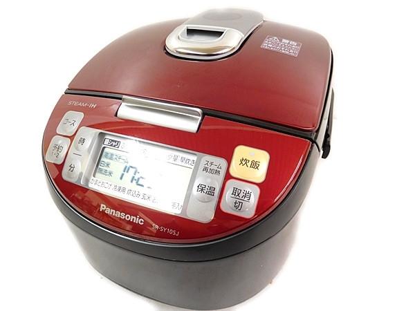 Panasonic パナソニック SR-SY105J-RK 炊飯器 ルージュブラック