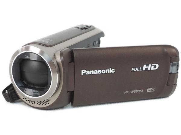 Panasonic パナソニック HC-W580M デジタルハイビジョン ビデオカメラ ブラウン