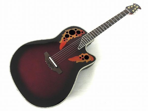 Ovation オべーション Custom Elite C2078AX BCB アコースティックギター