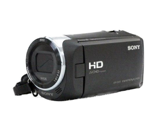 SONY ソニー ビデオカメラ HDR-CX470 32GB 光学30倍 フルハイビジョン ブラック Handycam