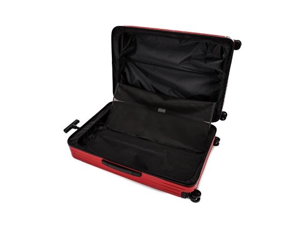 RIMOWA リモワ スーツケース 81L 4〜7泊 エッセンシャル ライト チェックインM 82373654 グロスレッド 4輪 マルチホイール TSAロック