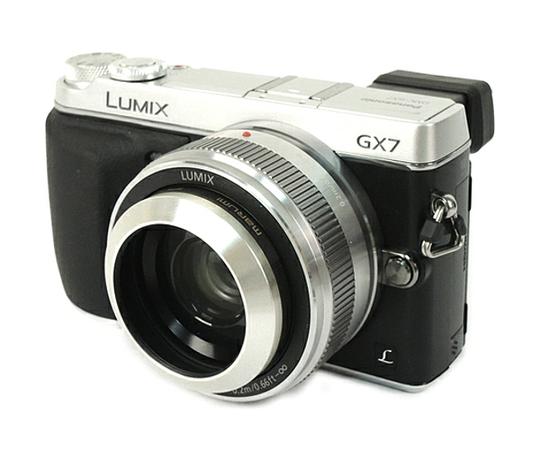 Panasonic パナソニック LUMIX GX7 DMC-GX7C レンズキット シルバー 一眼レフ カメラ ミラーレス