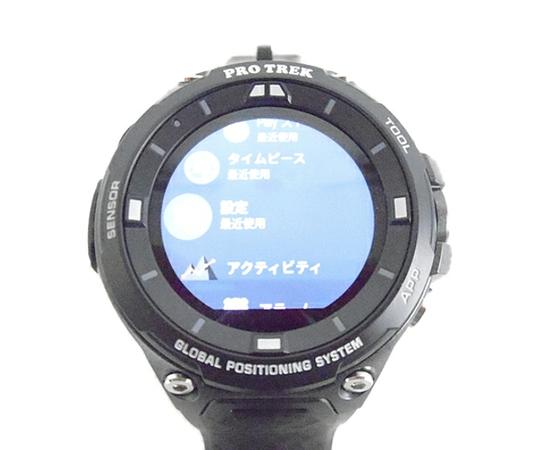 CASIO カシオ PRO TREK Smart 腕時計 WSD-F20-BK ブラック スマートウォッチ