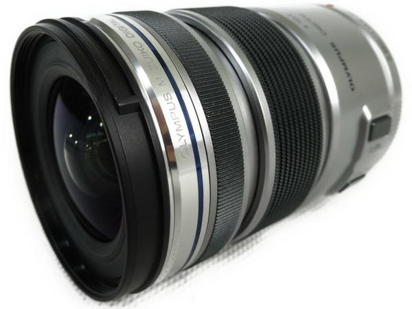 OLYMPUS オリンパス M.ZUIKO DIGITAL ED 12-50mm F3.5-6.3 EZ カメラレンズ ズーム シルバー
