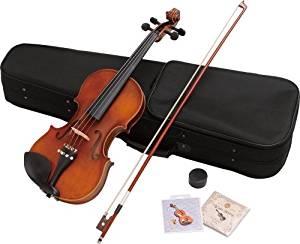 ヴァイオリン 4/4サイズ 弓・肩当て付き バイオリン ハルシュタット  V-12