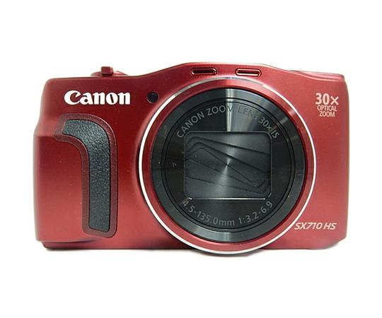 Canon キャノン デジタルカメラ PowerShot SX710 HS レッド コンデジ デジカメ