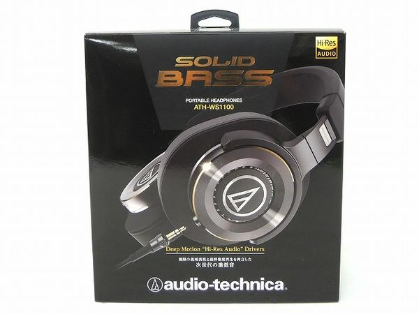 audio-technica オーディオテクニカ SOLID BASS ATH-WS1100 ヘッドフォン