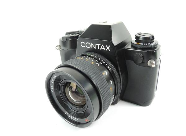 CONTAX 159MM Carl Zeiss Distagon F2.8 35mm 一眼 カメラ レンズ フィルター付