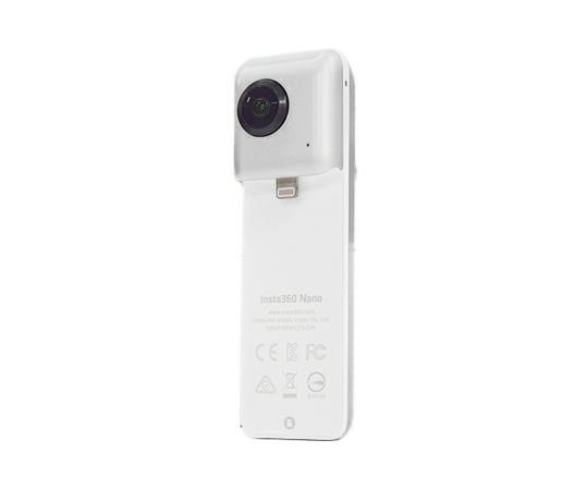 Insta360 Nano 360°カメラ iPhone専用 全天球 カメラ インスタ シルバー INSTA360 NANO 自撮り