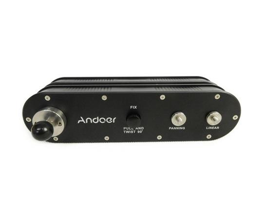 Andoer GT-V70 携帯式 カメラ スライダー ビデオカメラ 撮影