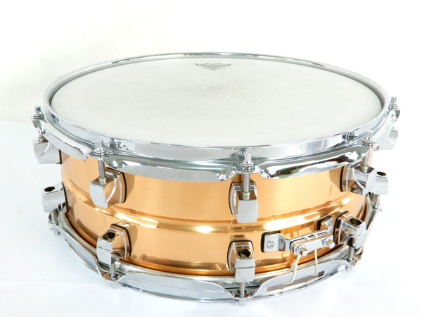 YAMAHA ヤマハ SD6105 スネアドラム 14×5,5 ケース スタンド 付き カッパー コパー  打楽器 楽器