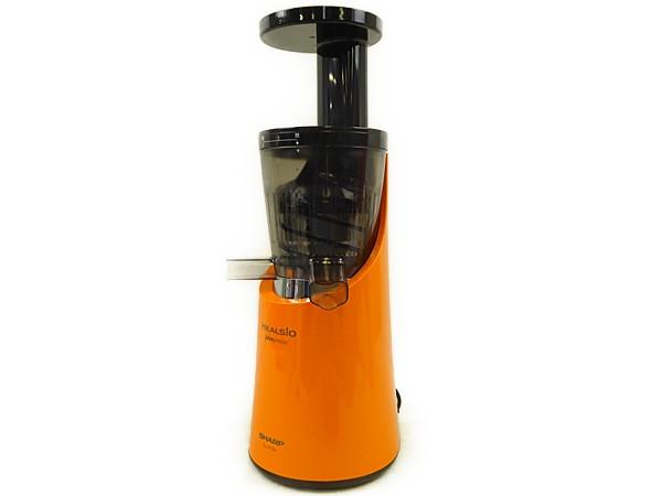 SHARP シャープ ヘルシオ ジュースプレッソ EJ-CF10A-D スロージューサー オレンジ