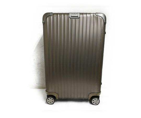 RIMOWA リモワ スーツケース 63L Topas Titanium トパーズ チタニウム マルチホイール チタンゴールド 94563