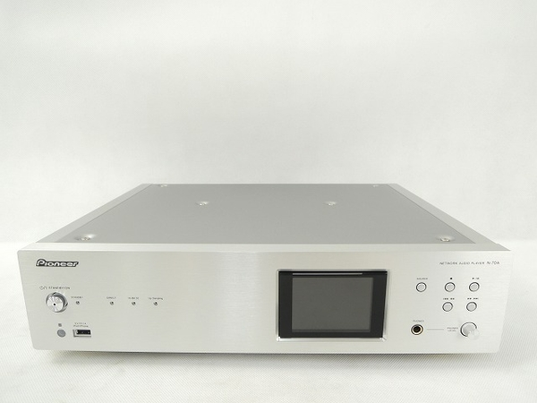 PIONEER パイオニア NETWORK AUDIO PLAYER N-70A ネットワークオーディオプレイヤー