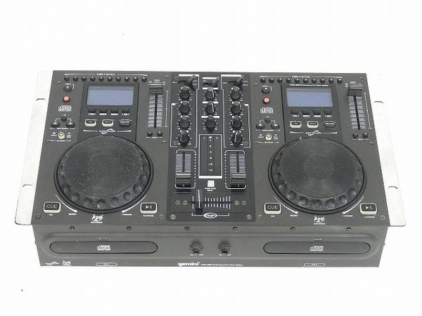 GEMINI ジャミナイ CDJ ミキサー 一体型 DJシステム CDM-3600  オールインワン