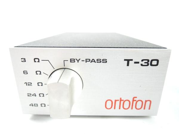 Ortofon オルトフォン T-30 MC 昇圧 トランス 3Ω 48Ω Denmark