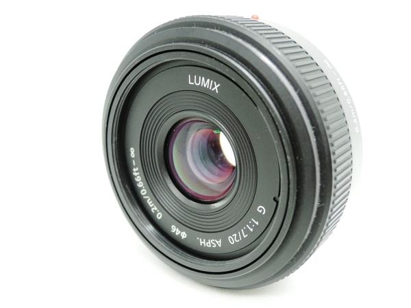 Panasonic パナソニック LUMIX G 20mm/F1.7 ASPH. H-H020 カメラレンズ 単焦点