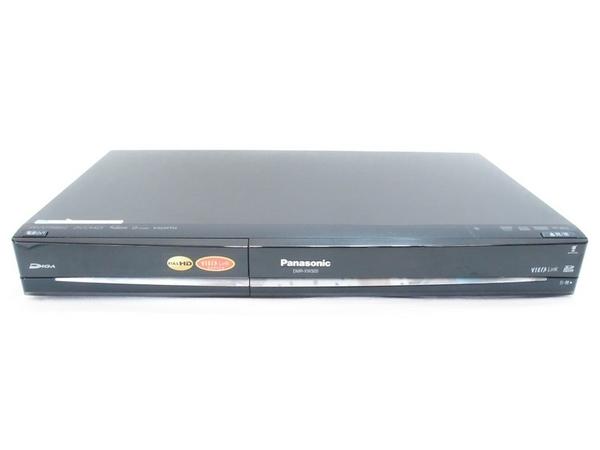 Panasonic パナソニック ハイビジョンDIGA DMR-XW320-K DVD レコーダー 500GB