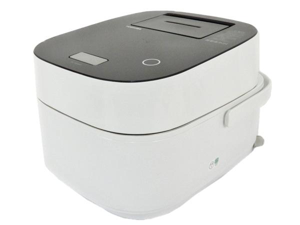 TOSHIBA 東芝 真空圧力かまど炊き RC-10VWG(K) 圧力IH 炊飯器 5.5合  グランブラック
