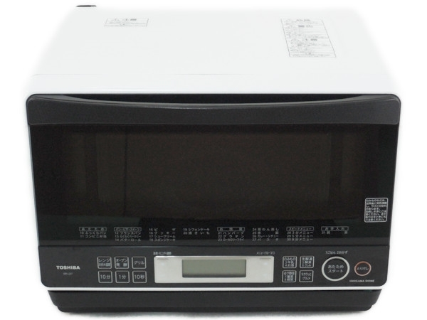 TOSHIBA 東芝 石窯ドーム ER-LD7(W) 電子 オーブンレンジ 26L グランホワイト
