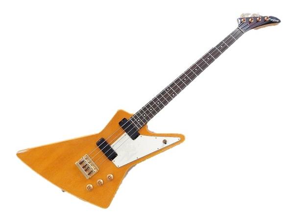 Epiphone Limited Edition Korina Explorer Bass ソフトケース付