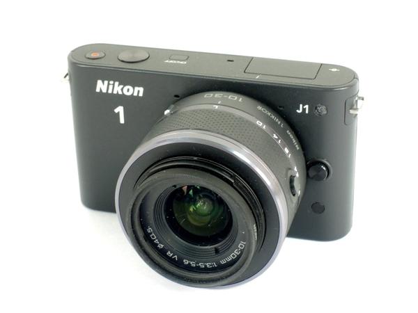 ニコン Nikon 1 J1 標準ズームレンズキット ブラック