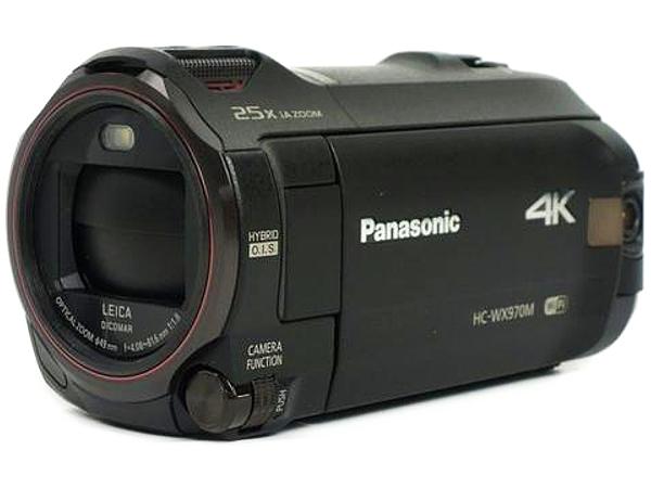 Panasonic パナソニック ビデオカメラ HC-WX970M 4K デジタル ビデオカメラ ブラック