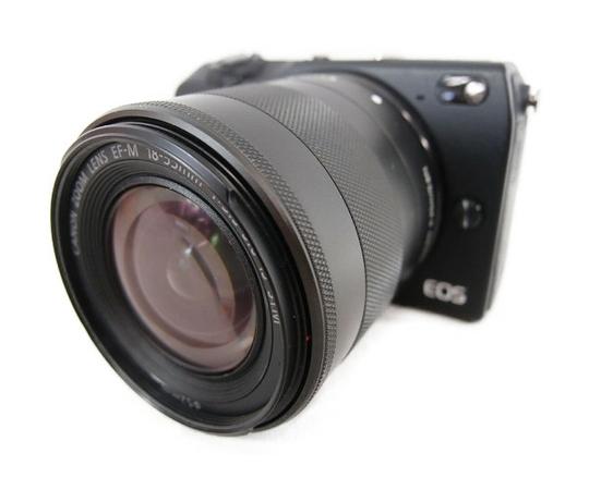 Canon キャノン EOS M2  EF-M18-55 IS STM レンズキット ブラック EOSM2BK-1855ISSTMLK  ミラーレス一眼