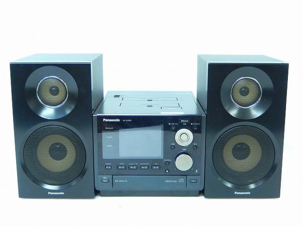 Panasonic パナソニック D-dock SC-SX950-K  コンポ HDD CD 80GB ブラック