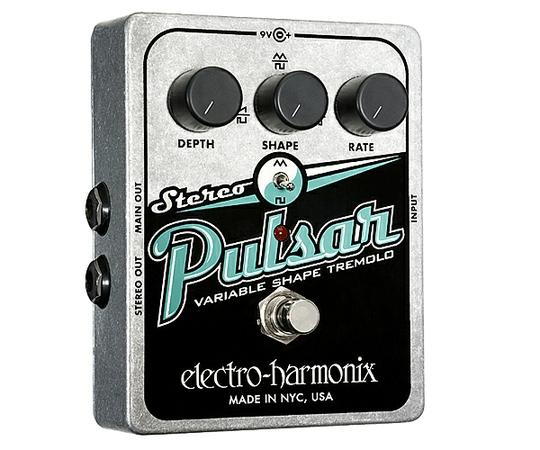 ELECTRO-HARMONIX エレクトロハーモニックス Stereo Pulsar ギター エフェクター トレモロ