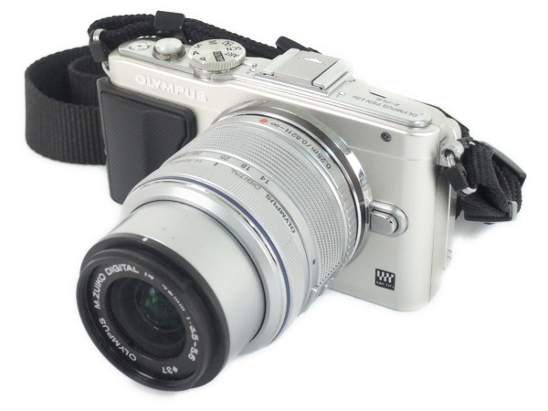 OLYMPUS オリンパス PEN Lite E-PL6 WHT カメラ ミラーレス 一眼 ホワイト