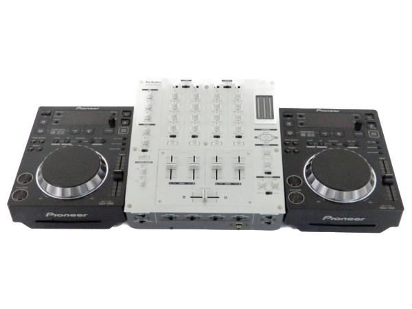 Pioneer CDJ-350 ペア SH-MZ1200 ミキサー セット CDJ DJ