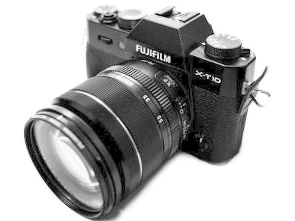FUJIFILM 富士フィルム X-T10LK 18-55mm レンズキット カメラ ミラーレス一眼 ブラック