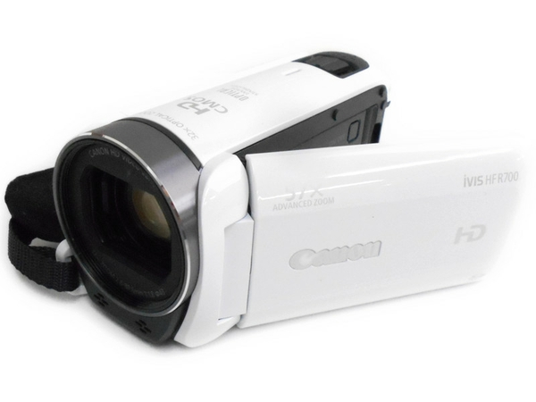 Canon キャノン iVIS HF R700 HD ビデオカメラ ホワイト