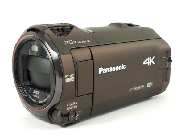 Panasonic パナソニック WX995M-T デジタル 4K ビデオ カメラ