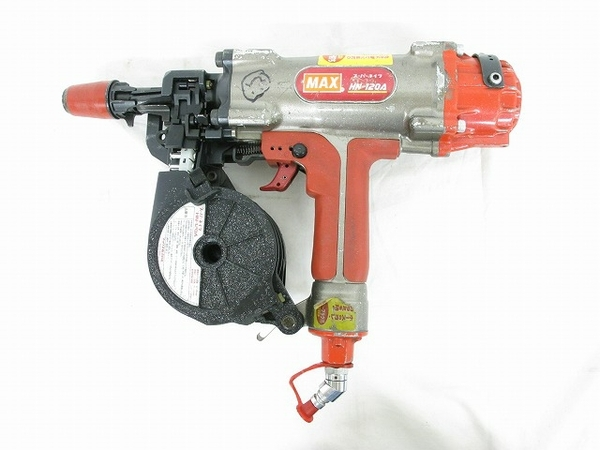 MAX マックス 高圧釘打機 HN-120A スーパーネイラ