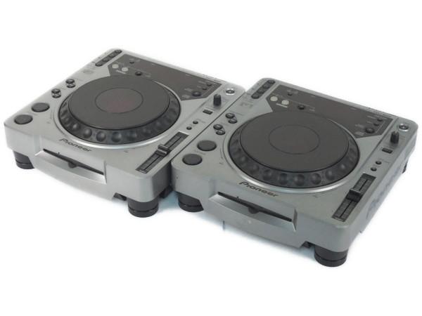 Pioneer CDJ-800 デジタルターンテーブル CDプレーヤー2台セット