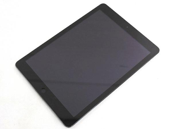 Apple アップル iPad Air MD785J/A Wi-Fi 16GB 9.7型 スペースグレイ