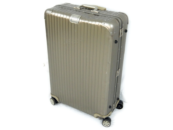 RIMOWA 94577 トパーズ チタニウム スーツケース 4輪 98L大型