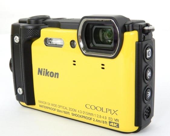 Nikon ニコン 防水カメラ COOLPIX W300 イエロー デジタルカメラ デジカメ