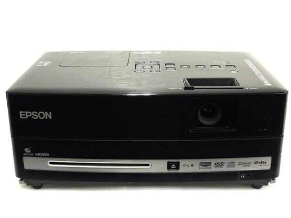 EPSON エプソン dreamio EH-DM3 DVDプレーヤー スピーカー内蔵 プロジェクター 2,000ルーメン