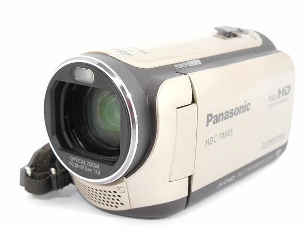 Panasonic パナソニック HDC-TM45 デジタル ハイビジョン ビデオカメラ キャラメルベージュ