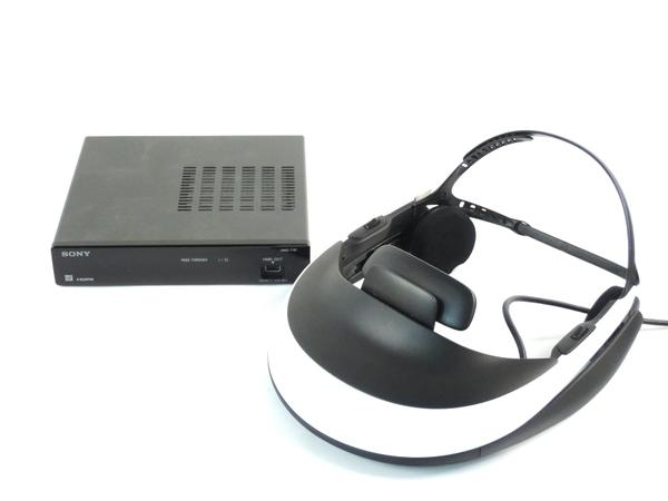 SONY ソニー HMZ-T1 ヘッドマウントディスプレイ  3D対応 ブラック/パールホワイト