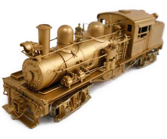 WestSide 中村精密 TWO TRUCK SHAY 蒸気機関車 真鍮製 HOゲージ