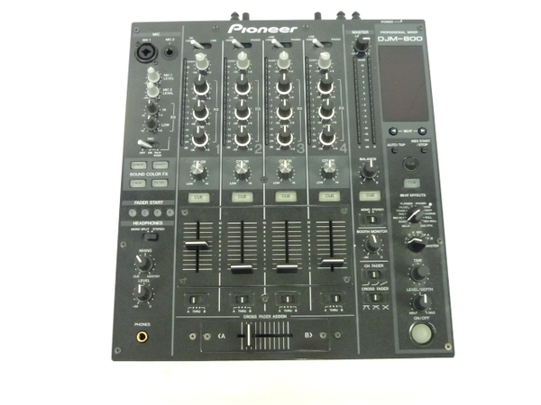Pioneer パイオニア DJM-800 DJミキサー DJM 4チャンネル