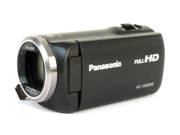 Panasonic パナソニック ビデオカメラ HC-V360MS デジタル ハイビジョン カメラ ブラック