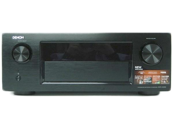 DENON デノン AV RECEIVER AVR-X4000-K AV サウンド レシーバー アンプ 7.2ch ブラック