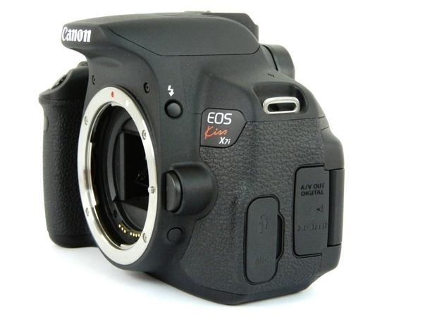 Canon キヤノン 一眼 レフ EOS Kiss X7i ダブルズームキット KISSX7i-WKIT デジタル カメラ