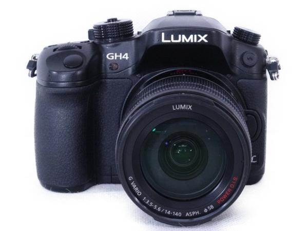 Panasonic パナソニック LUMIX ルミックス 高倍率ズームレンズキット DMC-GH4H-K カメラ ミラーレス一眼